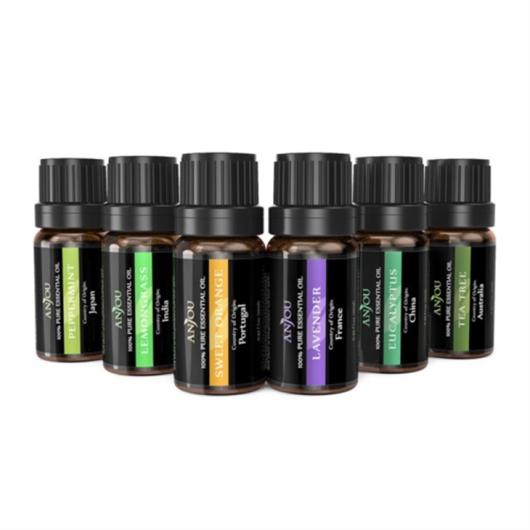 Set eteričnih ulja Anjou, 6 x 10 ml