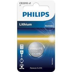 Baterija Philips CR2016, 3V, 1 komad