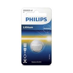 Baterija Philips CR2025, 3V, 1 komad