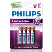 Baterija Philips Lithium Ultra AAA-LR03, 4 komada