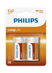 Baterija Philips LongLife C-R14, 2 komada