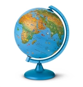 Globus Arca, 25 cm, sa svjetlom, engleski