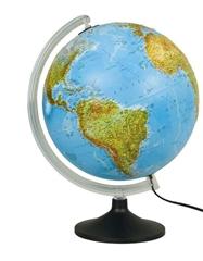 Globus Mariner, 30 cm, sa svjetlom, engleski