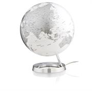 Globus Metal Chrome, 30 cm, sa svjetlom, engleski