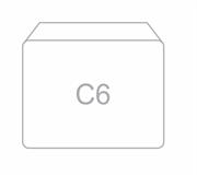 Kuverta C6, 114 x 162 mm, bijela, 100 kosov