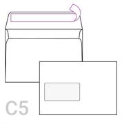 Kuverta C5 s lijevim prozorom, 162 x 229 mm, 1.000 komada