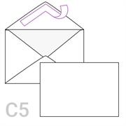 Kuverta C5, 162 x 229 mm, bijela, 500 komada, V