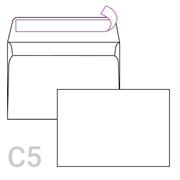 Kuverta C5, 162 x 229 mm, bijela, 90 g, 250 komada