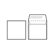 Kuverta za CD, 125 x 125 mm, bijela, 500 komada
