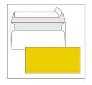 Kuverta American, u boji (žuta), 220 x 110 mm, bez prozora, 25 komada