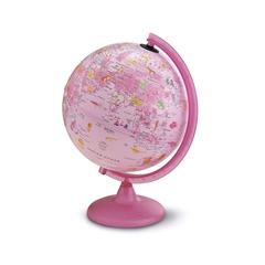 Globus Pink Zoo, 25 cm, sa svjetlom, engleski
