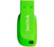 USB stick SanDisk Cruzer Blade, 32 GB, zelena