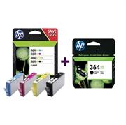 Komplet tinta za HP N9J74AE nr.364XL (BK/C/M/Y) + CN684EE nr.364XL (crna), original