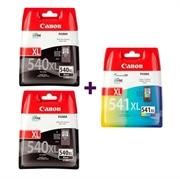 Komplet tinta za Canon 2 x PG-540XL + CL-541XL, original