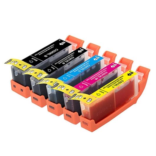Komplet tinta za CLI-551BK/C/M/Y XL + PGI-550BK XL, zamjenski