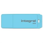 USB stick Integral Pastel, 8 GB, blue sky