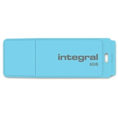 USB stick Integral Pastel, 8 GB, blue sky