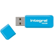 USB stick Integral Neon, 16 GB, plava