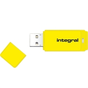 USB stick Integral Neon, 16 GB, žuta