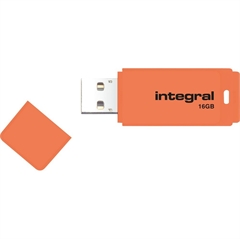 USB stick Integral Neon, 16 GB, narančasta