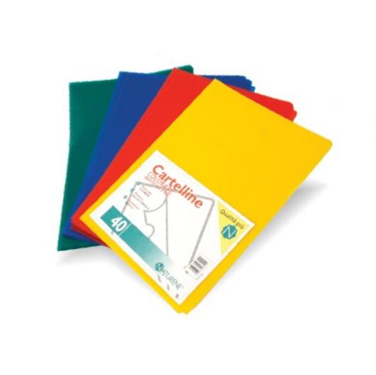 Mapa Favorit boja, A4, 40 komada
