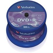 DVD+R medij Verbatim 4,7GB,  16x, 50 komada