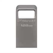USB stick Kingston DTMC3, 128 GB, srebrni, micro format