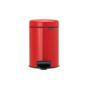 Koš za smeće Brabantia NewIcon, 3 L, crvena