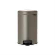 Koš za smeće Brabantia, 12 L, platinum