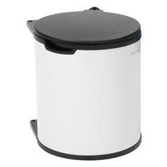 Koš za smeće Brabantia, 15 L - ugradni, bijeli