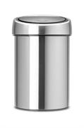 Koš za smeće Brabantia Touch, 3 L, mat metal, s nosačem za zid