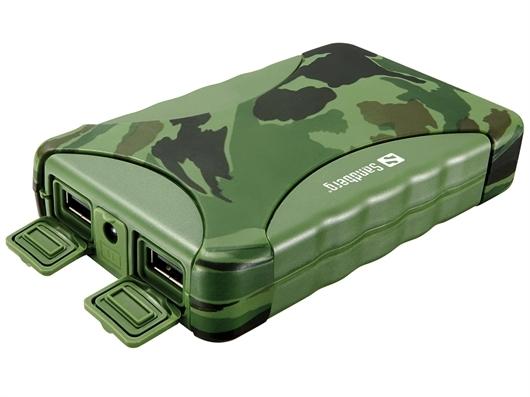 Prijenosna baterija (powerbank) Sandberg Outdoor, 10.400 mAh