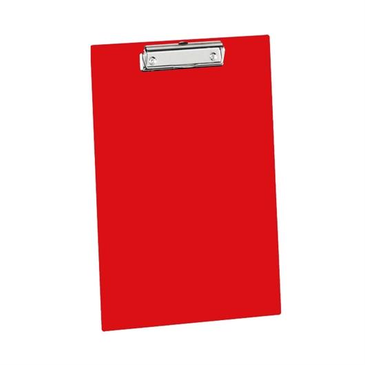 Podloga za pisanje s klipsom Clipboard, crvena