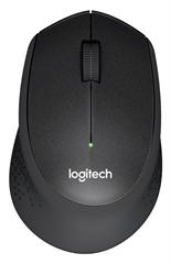 Miš Logitech M330 Silent Plus, bežični, crni