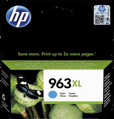 Tinta HP 3JA27AE nr.963 XL (plava), original