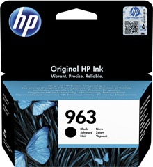 Tinta HP 3JA26AE nr.963 (crna), original