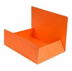 Mapa prešpan s klapom, A4, narančasta