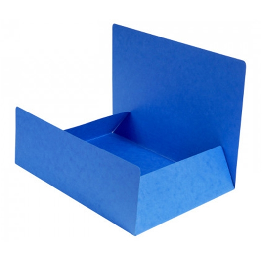 Mapa prešpan s klapom, A4, plava