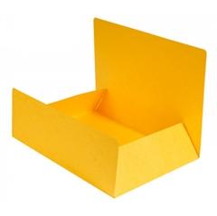 Mapa prešpan s klapom, A4, žuta