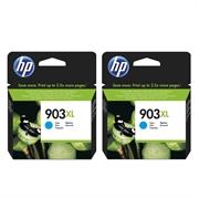Tinta HP T6M03AE nr.903XL (plava), dvostruko pakiranje, original