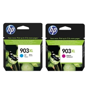 Tinta HP nr.903XL (plava + ljubičasta), dvostruko pakiranje, original