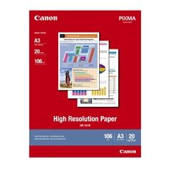 Foto papir Canon HR-101N, A3, 20 listova, 106 grama