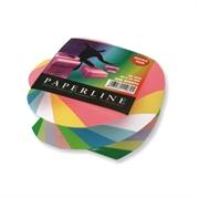 Papirna kocka Paperline u špirali, u bojama,  500 listova