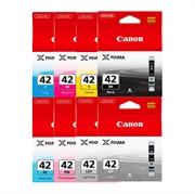 Komplet tinta za Canon CLI-42 BK/GY/LGY/C/PC/M/PM/Y, original