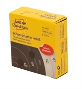 Naljepnice (točke za označavanje) Zweckform 3521, promjer 19 mm, bijele