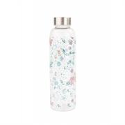 Bočica za vodu Skul vajb, 550 ml, cvijeće