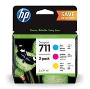 Komplet tinta HP P2V32A (HP nr.711 C/M/Y), original