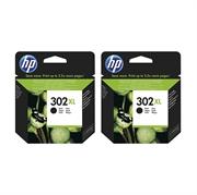 Komplet tinta HP F6U68AE nr.302XL (crna), dvostruko pakiranje, original
