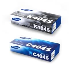 Komplet tonera Samsung CLT-K404S (crna) + CLT-C404S (plava), original