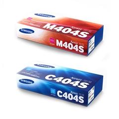 Komplet tonera Samsung CLT-C404S (plava) + CLT-M404S (ljubičasta), original